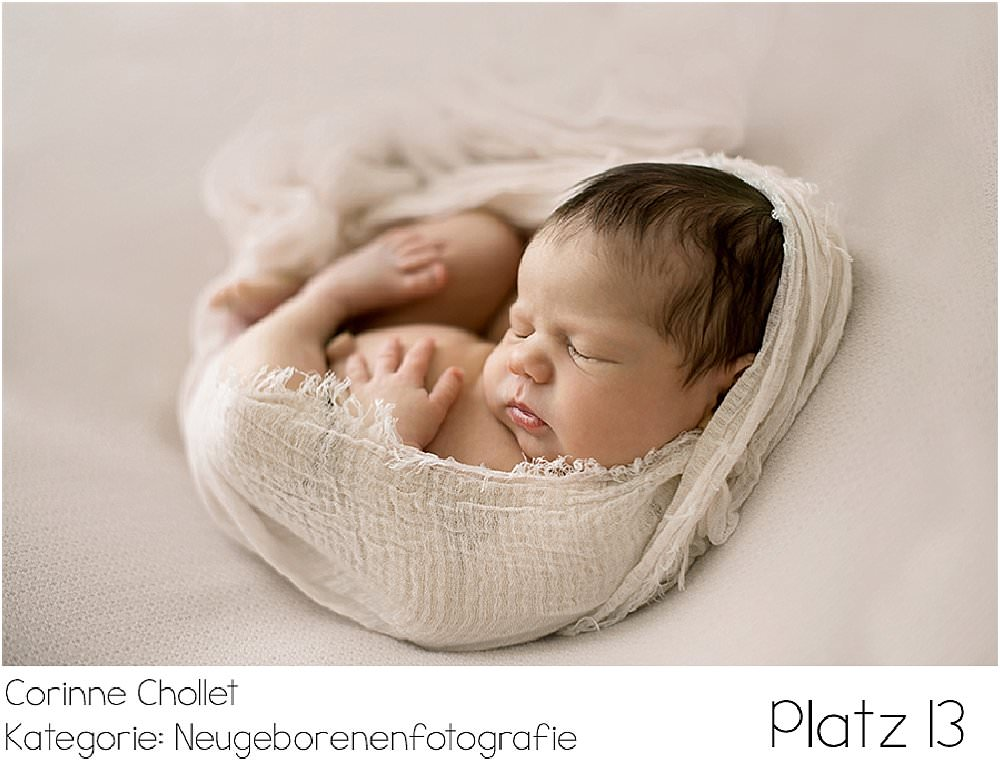 Wettbewerb Kinderfotograf, Neugeborenefotos, Neugeborenefotograf, Fotograf St. Gallen, Fotograf Thurgau, Preis